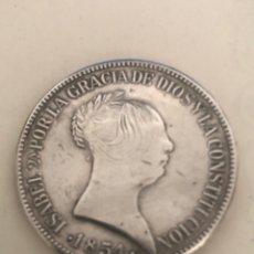 Monedas de España: MONEDA ISABEL 2A 1855 DE PLATA PZA DE JOYERIA. Lote 262939475