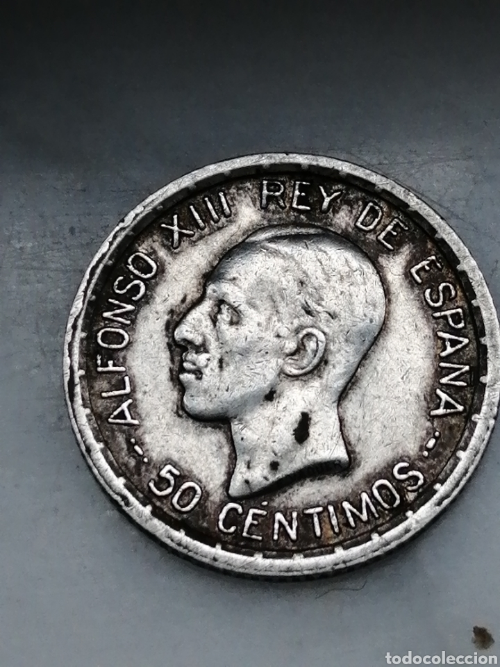 50CENTIMOS ALFONSO 13 1926 (Numismática - España Modernas y Contemporáneas - De Isabel II (1.834) a Alfonso XIII (1.931))