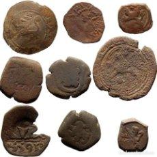 Monedas de España: CONJUNTO DE 9 MONEDAS DE LOS AUSTRIAS, A CLASIFICAR. L. Lote 263191615