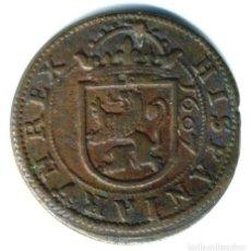 Monedas de España: XS- FELIPE III 1607 8 MARAVEDÍS INGENIO DE SEGOVIA JS# D-223. Lote 263204180