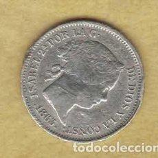 Monedas de España: ISABEL II 1 REAL 1863 SEVILLA M281. Lote 263625280