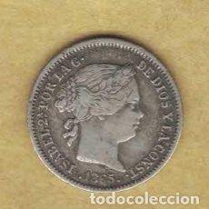 Monedas de España: ISABEL II 10 CÉNTIMOS DE ESCUDO 1865 SEVILLA M287. Lote 263625510