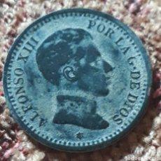 Monedas de España: MONEDA ESPAÑA ALFONSO XIII 2 CENTIMOS S.M.V 1905 * 05. Lote 264451734