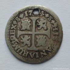 Monedas de España: ESPAÑA CARLOS III ½ REAL 1764 PJ MADRID. Lote 264757949