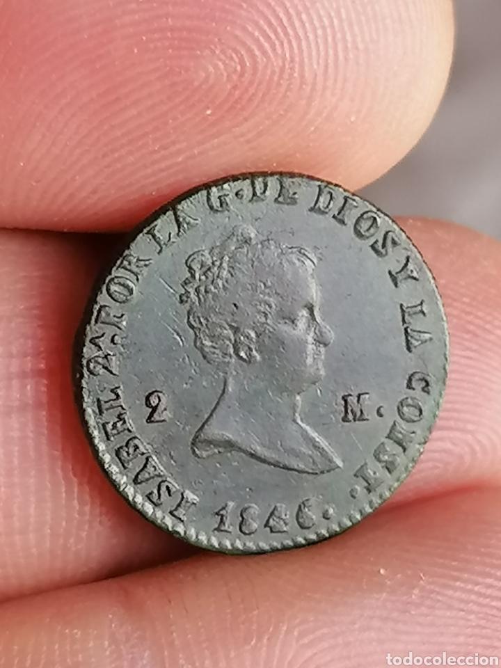 ISABEL II 1846 2 MARAVEDIS SEGOVIA (Numismática - España Modernas y Contemporáneas - De Isabel II (1.834) a Alfonso XIII (1.931))