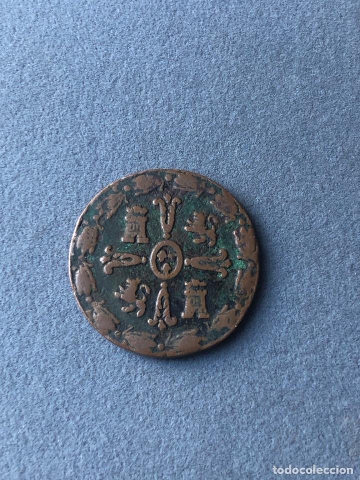 Monedas de España: Moneda Fernando VII,1/4 de Tlaco 1815(1/2 real) - Foto 2 - 265334844