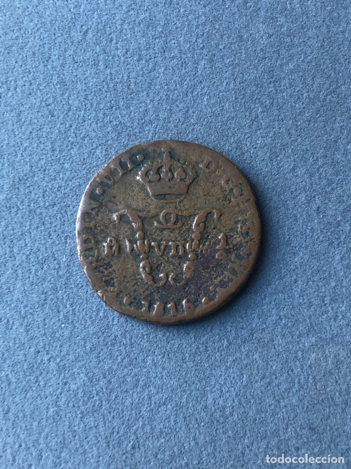 MONEDA FERNANDO VII,1/4 DE TLACO 1815(1/2 REAL) (Numismática - España Modernas y Contemporáneas - De Reyes Católicos (1.474) a Fernando VII (1.833))