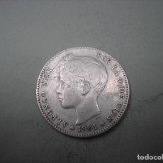 Monedas de España: 1 PESETA DE PLATA DE 1901. 19-01 . REY ALFONSO XIII. Lote 266766593