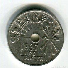 Monedas de España: 25 (VEINTICINCO) CENTIMOS AÑO 1927 ACUÑADA EN VIENA S/C. Lote 266971199