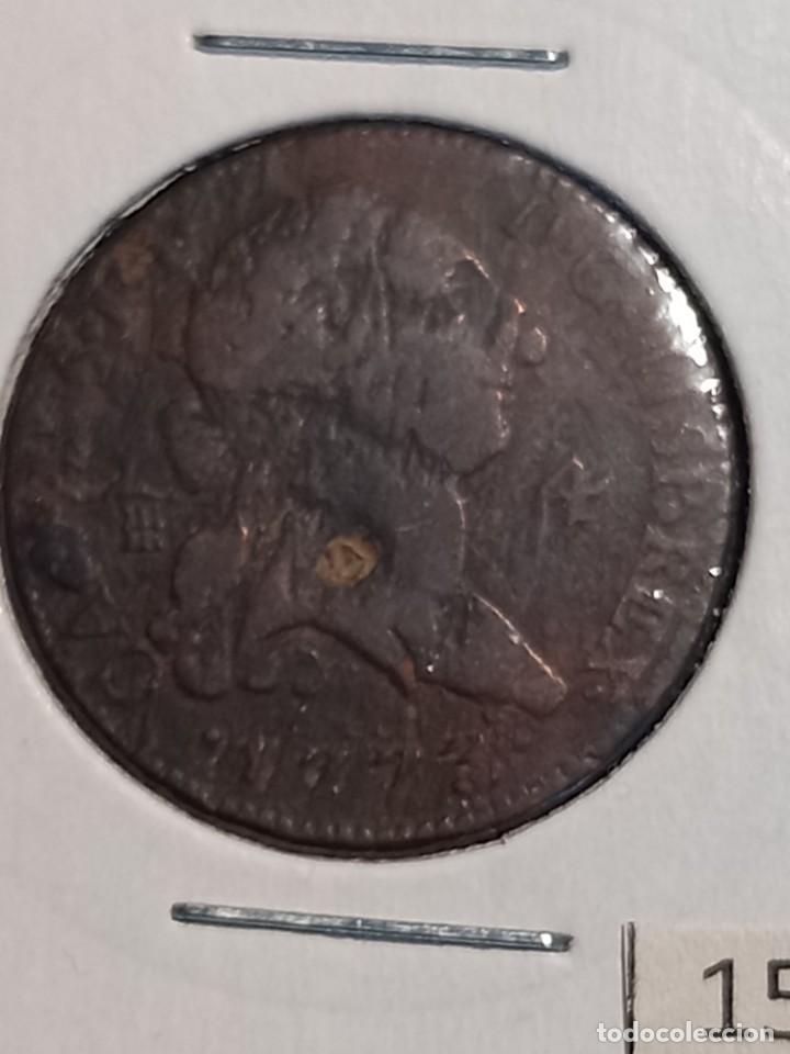 Monedas de España: España 4 maravedís 1773 Segovia - Foto 2 - 267134089
