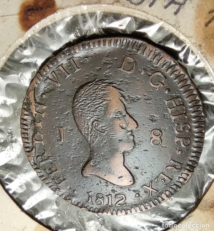 8 MARAVEDIS 1812 JUBIA RARA EN ESTE ESTADO ¡¡¡¡LIQUIDACION COLECCION!!!!! (Numismática - España Modernas y Contemporáneas - De Reyes Católicos (1.474) a Fernando VII (1.833))