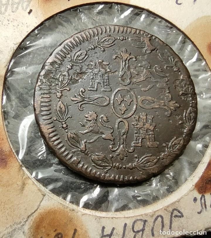 Monedas de España: 8 maravedis 1812 JUBIA RARA En este estado ¡¡¡¡LIQUIDACION COLECCION!!!!! - Foto 2 - 267450984