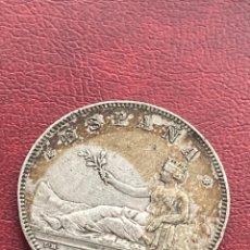 Monnaies d'Espagne: 5 PESETAS 1870 *70 PLATA. Lote 267630599