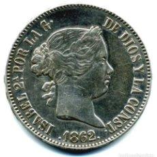 Monedas de España: XS- ISABEL II 10 REALES 1862 MADRID EBC EXCELENTE. Lote 267806264