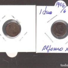 Monnaies d'Espagne: MONEDA DE ESPAÑA ALFONSO XIII 1 CENTIMO 1906/06 EL QUE VES. Lote 267813019
