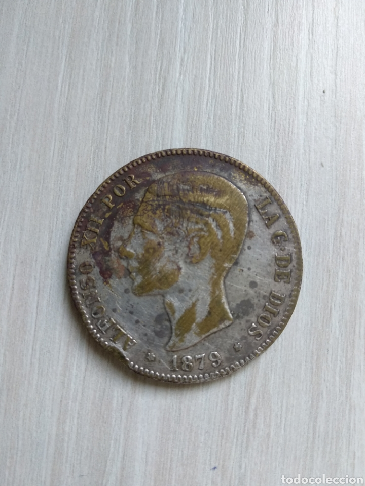 5 PESETAS 1879 FALSA DE EPOCA (Numismática - España Modernas y Contemporáneas - De Isabel II (1.834) a Alfonso XIII (1.931))