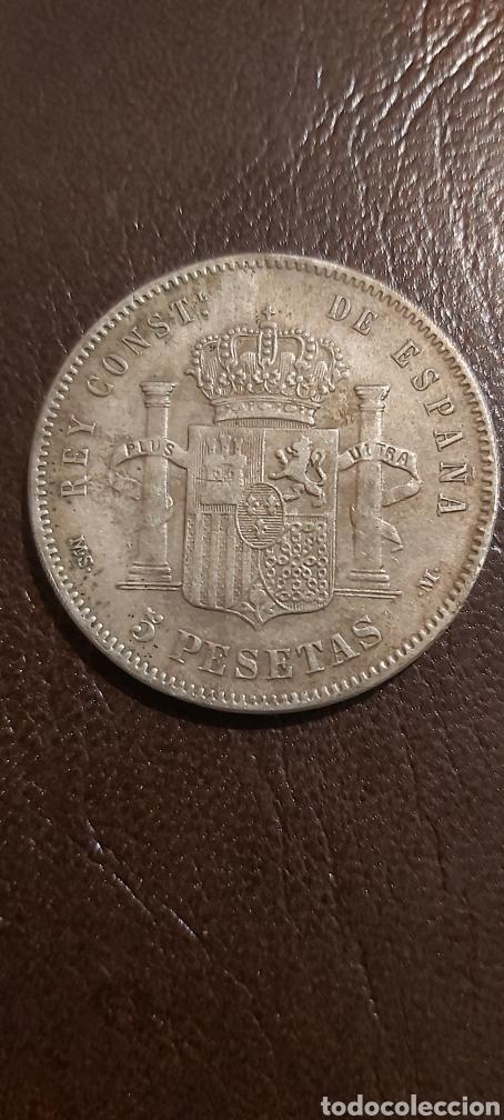 Monedas de España: MONEDA DE ALFONSO XII 5 PESETAS 1882 MSM DURO SEVILLANO PLATA - Foto 2 - 268477484