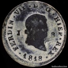 Monedas de España: FERNANDO VII, 8 MARAVEDIS JUBIA 1818 - 32 MM / 9.55 GR.. Lote 269158523