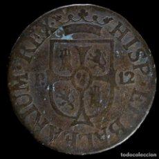 Monedas de España: FERNANDO VII, 12 DINEROS, PALMA DE MALLORCA 1812 - 25 MM / 6.77GR.. Lote 269162993