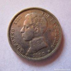 Monedas de España: ALFONSO XIII . MUY BONITA PIEZA DE UNA PESETA DE 1903. Lote 269192683