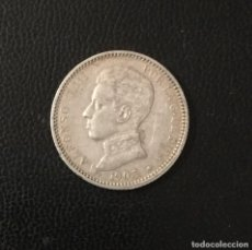 Monedas de España: ESPAÑA , ALFONSO XIII , PESETA DE PLATA DE 1903 *19-03. Lote 269264553