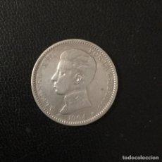 Monedas de España: ESPAÑA , ALFONSO XIII , PESETA DE PLATA DE 1904 * 19-04. Lote 269264923