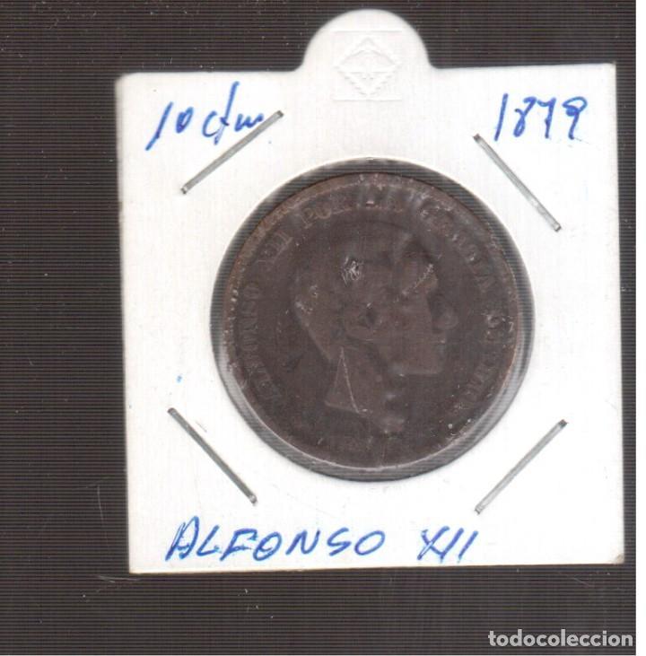 MONEA ES`PAÑOLA LA QUE VES ALFONSO XII 1879 LA QUE VES (Numismática - España Modernas y Contemporáneas - De Isabel II (1.834) a Alfonso XIII (1.931))