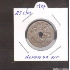 Monedas de España: MONEA ESPAÑOLA LA QUE VES ALFONSO XIII 25 CTMOS 1927 LA QUE VES. Lote 269280913