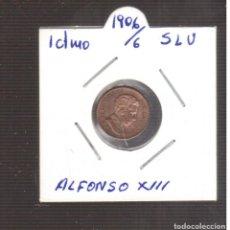 Monedas de España: MONEA ESPAÑOLA LA QUE VES ALFONSO XIII 1 CTMOS 1906/6 LA QUE VES. Lote 269281363