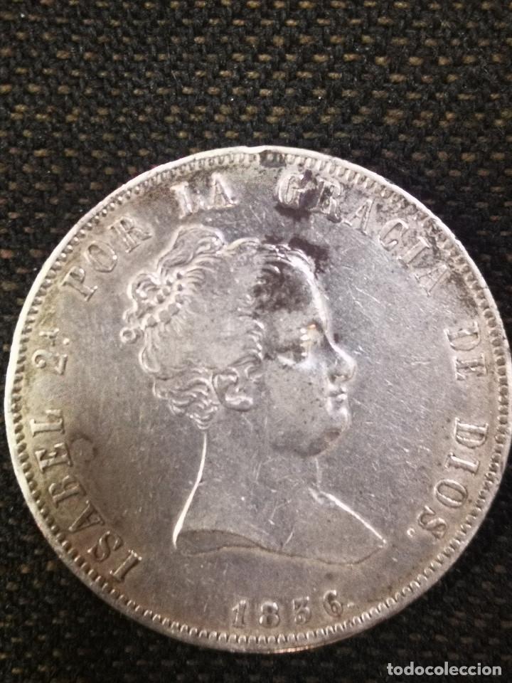 Monedas de España: RARA Y ESCASA MONEDA - ISABEL I I - 20 REALES PLATA -1836 - - Foto 2 - 269468818