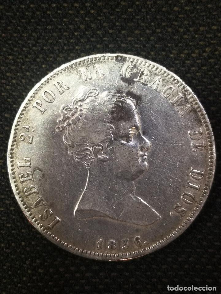 Monedas de España: RARA Y ESCASA MONEDA - ISABEL I I - 20 REALES PLATA -1836 - - Foto 3 - 269468818