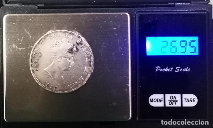 Monedas de España: RARA Y ESCASA MONEDA - ISABEL I I - 20 REALES PLATA -1836 - - Foto 4 - 269468818