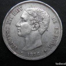 Monedas de España: 5 PESETAS DE PLATA AÑO 1876 * 76. DEM. Lote 269650343