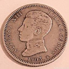Monedas de España: 1 PESETA 1903 DE ALFONSO 13. Lote 269752338