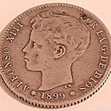 Monedas de España: 1 PESETA 1899 DE ALFONSO 13. Lote 269752513