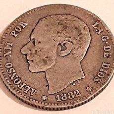 Monedas de España: 1 PESETA DE 1882 DE ALFONSO 13. Lote 269752633
