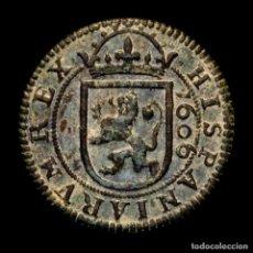 Monete da Spagna: ESPAÑA - VIII (8) MARAVEDÍS, FELIPE III, SEGOVIA 1606.. Lote 269778193