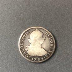 Monedas de España: 2 REALES CARLOS III 1781,LIMA. Lote 269965863