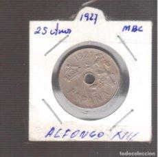 Monedas de España: MONEDAS DE ALFONSO XIII 25 CTMOS 1927 LA QUE VE S. Lote 270893013