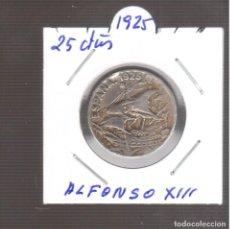 Monedas de España: MONEDAS DE ALFONSO XIII 25 CTMOS 1925 LA QUE VE S. Lote 270893158