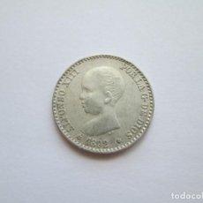 Monedas de España: ALFONSO XIII * 50 CENTIMOS 1892*22 PG M * PLATA * VARIANTE 2-2. Lote 271683908