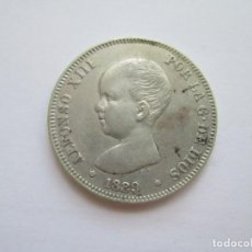 Monedas de España: ALFONSO XIII * 2 PESETAS 1889*89 MP M * PLATA. Lote 271685128