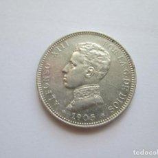 Monedas de España: ALFONSO XIII * 2 PESETAS 1905*05 SM V * PLATA. Lote 271688383