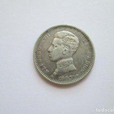 Monedas de España: ALFONSO XIII * 1 PESETA 1903*03 SM V * PLATA. Lote 271689958
