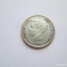 Monedas de España: ALFONSO XIII * 50 CENTIMOS 1900*00 SM V * PLATA. Lote 271692768