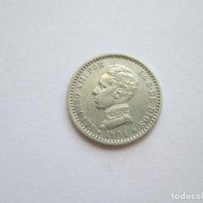 Monedas de España: ALFONSO XIII * 50 CENTIMOS 1904*10 PC V * PLATA. Lote 271693483