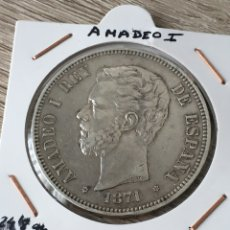 Monedas de España: BONITO DURO DE PLATA DE1871, ESTRELLAS VISIBLES. Lote 272073343