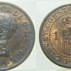 Moedas de Espanha: MONEDA DE ALFONSO XIII 1 CÉNTIMO 1912 PCV *3. Lote 272086113