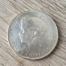 Monedas de España: 5 PESETAS DE PLATA DE 1899 SGV PRECIOSA. Lote 273176233