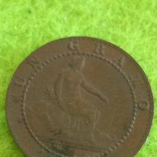 Monedas de España: UN CÉNTIMO DE 1870. GOBIERNO PROVISIONAL.. Lote 273920763